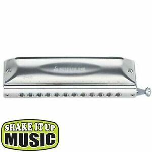 Suzuki Harmonica S-48S 12 Hole Chromatic Key of C *Authorised Dealer*