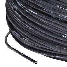 Silikonkabel AWG 22 0.34 Qmm hochflexibel Supersoft schwarz PartCore 110033