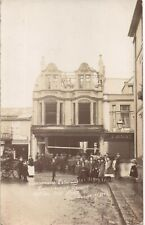 More details for camborne. berrimans shop after the fire 1906 by w.j.bennett, camborne & hayle.