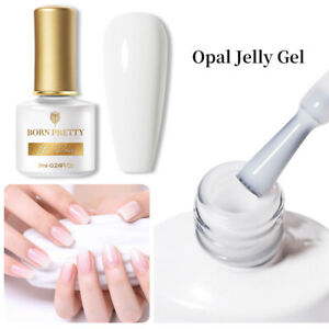 BORN PRETTY Semitransparent Jelly Nail Art UV Gel Polish Soak Off Spring Color