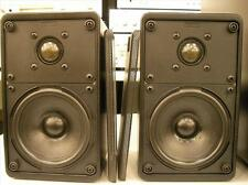 Canton Plus-s Pair Speakers Acoustic a 2 Ways in Wood Black Perfect