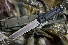 Kizlyar Supreme Alpha D2 Satin Blade Tactical Hunting Knife Quality Made Russian