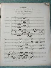 Beethoven – Quintet Op. 16 for piano, oboe, clarinet, horn, sheet music