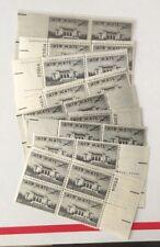 C34 10¢ Union Building Group of 10   PLATE BLOCKS MNH OG