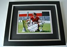 Phil Neal SIGNED 10X8 FRAMED Photo Autograph Display Liverpool Football & COA