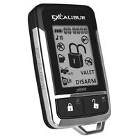 EXCALIBUR ALARMS 1510-03E Omega Replacement 2 Way LCD Remote for AL18703DB