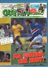 GUERIN SPORTIVO-1990 n.2-MANCINI-GULLIT-FILM C.-ENCICLOPEDIA MONDIALE-NO POSTER