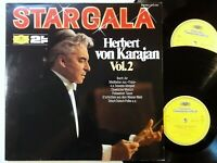 9000) 2er LP - Star Gala - Herbert von Karajan - Vol. 2 - DG - FOC -