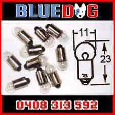 6v Motorbike Instrument Globe Bulb 3w BA9s Base x5 (You Are Buying 5) HL024
