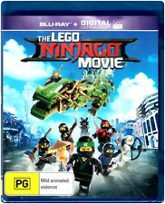 """THE LEGO NINJAGO MOVIE"" Blu-ray + Digital UV - Region [B] NEW"