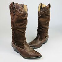 Soda Womens Size 6.5 Brown Tall Western Cowgirl Cowboy Pointed Toe Boots