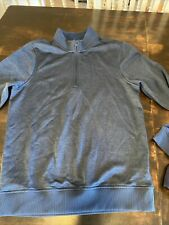 Under Armour Men's Heat Gear Long Sleeve Loose Fit pullover Small Blue