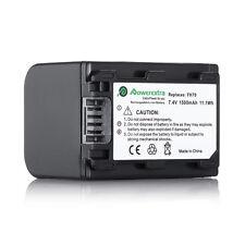 1500mAh NP-FH70 Battery For Sony HandyCam DCR-DVD108 DCR-HC8 DCR-SR200 DCR-SR62