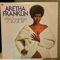 "ARETHA FRANKLIN - With Everything I Feel - 12"" Vinyl Record LP - EX (Cheesecake)"