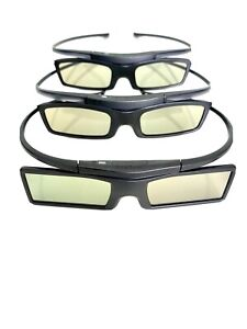 3 Pairs of Samsung Active 3D Glasses (As New)