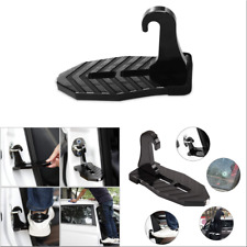 Super Heavy Duty  Car Doorstep With Rubber Protector Safety Hammer Design Folded