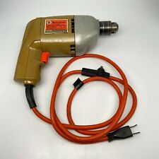 """Vintage Black & Decker 7114 3/8"""" Corded Variable Speed Drill - Working Condition"""