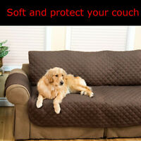 3 Sitzer Gesteppt Sofa Slip Abdeckung Sofa Haustier Möbel Schutz Decken Sofa