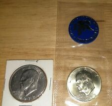 UNC 1972-D EISENHOWER ONE DOLLAR COIN SHIPS FREE  #112