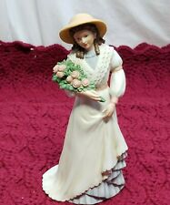 "Home Interior Homco(Charlotte Rose"" Porcelain Lady Figurine#1468"