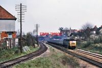 PHOTO  CLASS 47 AT  ENBORNE 1970'S