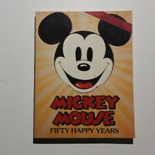 Mickey Mouse, Fifty Happy Years (PB Book)