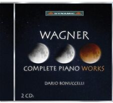 Dario Bonuccelli, R. Wagner - Complete Piano Works [New CD]