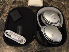 Bose QuietComfort 35 ii Wireless Noise Cancelling Headphones Silver QC35 II