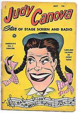 Judy Canova #1 (Fox 1950, g-vg 3.0) 50% off guide value