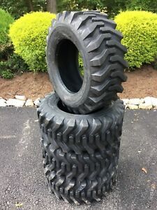4 NEW 12-16.5 Skid Steer Tires  - 12 PLY- Camso sks332-For Bobcat & more-12X16.5