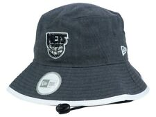 BROOKLYN NETS - NEW ERA TIPPED BUCKET BOONIE HAT - GRAY WHITE - XL