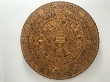 Aztec Calendar - Wooden & Hand Carved
