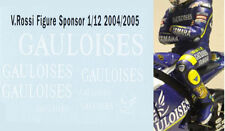 1/12 ROSSI FIGURE 2004 2005 GAULOISES  DECALS TB DECAL TBD27