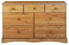 Bedroom Farmhouse Pine More than 200cm Chests of Drawers