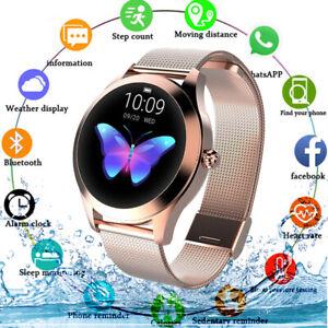 2021 Damen Frauen Bluetooth Smartwatch Uhr Herzfrequenz Fitness Tracker Armband