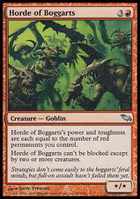 MTG HORDE OF BOGGARTS FOIL - ORDA DI BOGGART - SHM - MAGIC