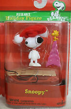 Snoopy With Sled Poseable Holiday Figure Christmas Tree Woodstock