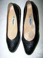 "SCARPE ""MARTINA VENEZIA"" DECOLLETE' PITONE WOMAN PYTHON SHOES n°36 MADE IN ITALY"