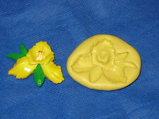 Orchid Flower Silicone Mold Candy #272 Chocolate Fondant Fimo Clay Sugarpaste