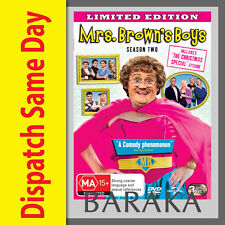 MRS BROWNS BOYS Brown's Boy Season Series 2 + Christmas Special DVD Box Set R4