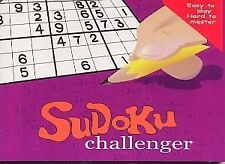 SUDOKU CHALLENGER ~ BOOK AND CARDS 380 PUZZLES ~ NEW