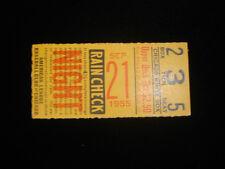 September 21, 1955 Cleveland Indians @ Chicago White Sox Ticket Stub EX