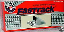 Lionel FASTRACK Earthen Bumpers Set of 2 #6-12059 NEW!!