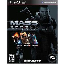 Mass Effect Trilogy (Sony PlayStation 3, 2012)
