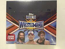 2017 TOPPS WWE ROAD TO WRESTLEMANIA RETAIL BOX