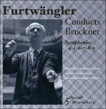 Furtwängler Conducts Bruckner: Symphonies Nos. 4, 5, 6, 7, 8 & 9, New Music