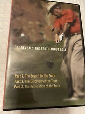 AJ Reveals The Truth About Golf DVD Very Good - Tested. 3 Lessons In 1 Disc. Dad