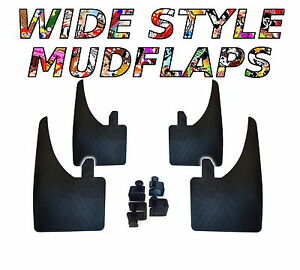 4 X NEW QUALITY WIDE MUDFLAPS TO FIT  Volvo 240 UNIVERSAL FIT