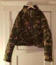 mnml LA Camo Cropped Puffer Jacket Size XXXL Rhude Rhonda