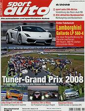 sport auto 6/08 2008 Lotus Exige S Gallardo LP 560-4 SLK 350 SL 63 AMG Astra OPC
